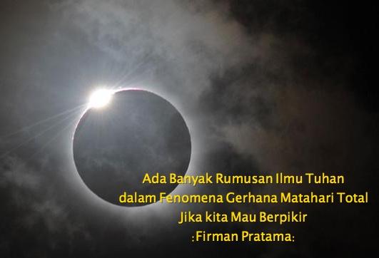3 Hikmah Utama Yang Ada Dalam Fenomena Gerhana Matahari