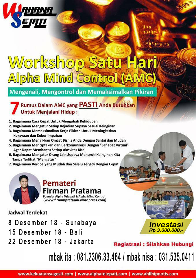 jadwal workshop amc